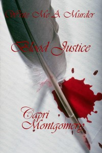 Write Me A Murder Blood Justice cover
